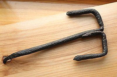 Gorgeous RARE Large Viking Kievan Rus Key for Wooden Padlock 10-12 AD 5