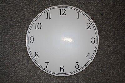 """Vintage 4.5"""" clock face dial Elegant Arabic numeral number renovation transfer 3"""