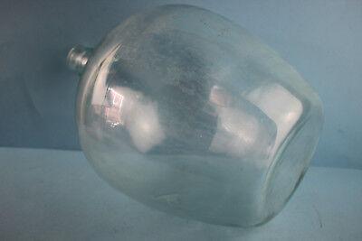 Alter  Glasballon Transparent Ca 10 Liter Nr 91 4