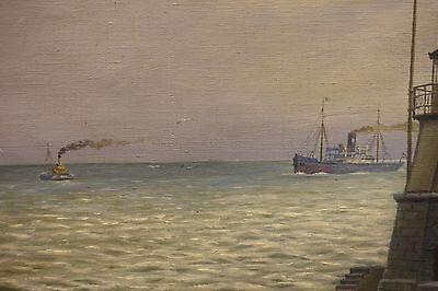 Gemälde. - Marinemalerei. - Ostfriesland. - Emden. - Polen - Pawlowski, Antoni.