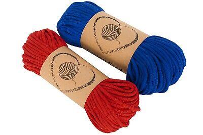 Kordel Baumwollkordel Schnur Baumwolle Seil Ø 2 mm 3 mm Länge 100 m Farben D