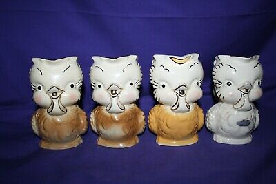 1940's 1950's Shawnee Pottery Chick Creamer Pitcher 16 different available 5