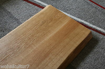 ... Tischplatte Platte Eiche Massiv Holz Tisch Brett Leimholz 5,5 Cm Stark  Baumkante 6