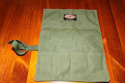 Plier Tool Roll.  4 Pocket.   Australian made with Australian canvas. 2