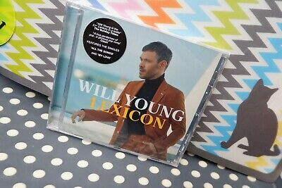 """Will Young New Sealed Fast Freepost 2019 UK#1 album """"Lexicon"""" CD Ground Running 10"""
