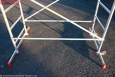 Super eDIY Aluminium Scaffold Tower 5m reach height FREE Next Day Delivery