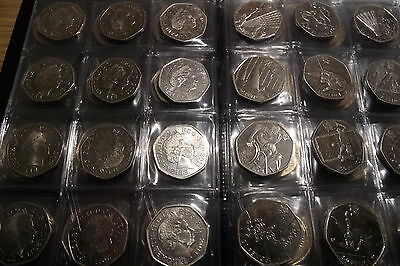 Coin Album 96 coins perfect for 50p ,£2 ,penny and other british coins 4
