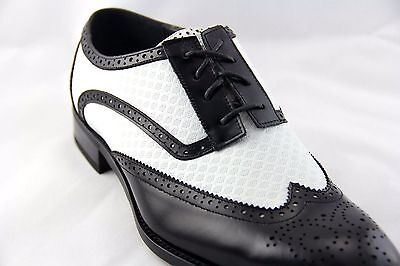 Men/'s Dress Ankle Boots Wing Tip Gray Leather Lace Up GIORGIO VENTURI 6793