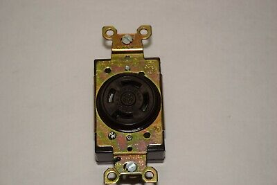 Ge General Electric L-15 20A 250V 3 Phase Twist Lock Receptacle New 2