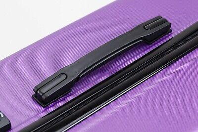 24 inch 65L Medium size Luggage Trolley Travel Bag 4 Wheels TSA lock hard case 6