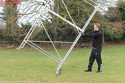 Super eDIY Aluminium Scaffold Tower/Towers 5m reach height FREE Delivery