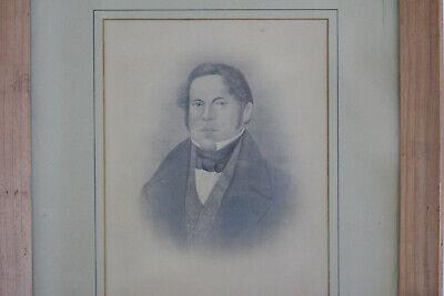 altes Foto Brauerei Braumeister Russ Ruß um 1850 Albumien 2