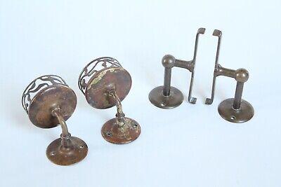 antique bathroom cup tumbler holder shelf supports | jl mott vtg deco victorian 7