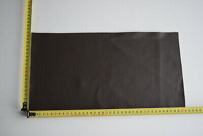 chute de cuir de couleur  Marron   grainé format ( 40 sur 20 cm )   vachette 4