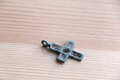 Viking Kievan Rus Pendant Cross with different sides 10-11 AD 12