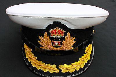 fb045f85c3466 ... Royal Marine Ship White Star Line Hats Titanic Captain Smith Hat Size 60  2