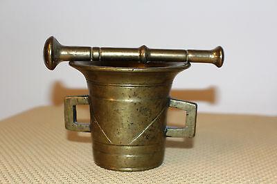 Mörser Schlegel Stössel antik Pistill Küche Pulver Deko Tabletten #6256 5