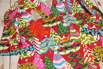131756b77cdfc ... Lolly Wolly Doodle Girls Sz 5 Boutique Colorful Christmas Tree Holiday  Dress 2