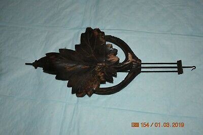 Antique cuckoo clock small pendulum for project 2