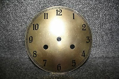 "Vintage 6"" clock face/dial Arabic numeral number restore/renovation wet transfer 4"