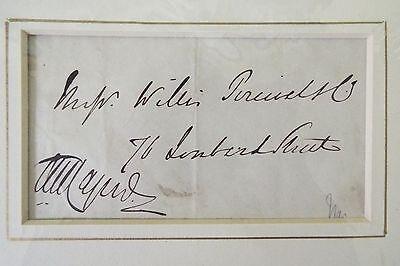 Sir Austen Henry Portrait/Signature - Undated 2