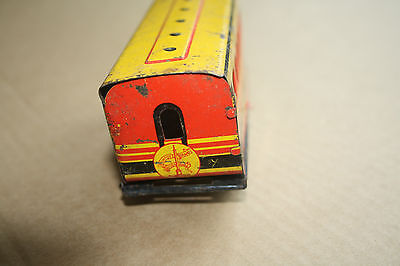 A beautiful  OLD TINPLATE TOY as a  DESK or BOOKCASE ORNAMENT Hornby 'O' gauge a 2