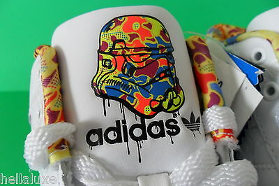 separation shoes c4d2e cff5b ... NEW~Adidas SUPERSKATE MID STAR WARS Shoe Stormtrooper superstar  sneaker~Men sz 9 7