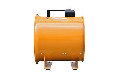 "110V Dust Fume Extractor/Ventilation Fan 10"" (250Mm) 4"