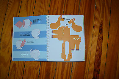 NIP American Girl Paper Shaper Forest Friends 3-D Crafts Age 8+