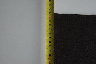 chute de cuir de couleur  Marron   grainé format ( 40 sur 20 cm )   vachette 6