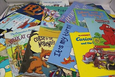 LOT OF 20 - Childrens Bedtime Books - Story time Bundle for young children - PB 2