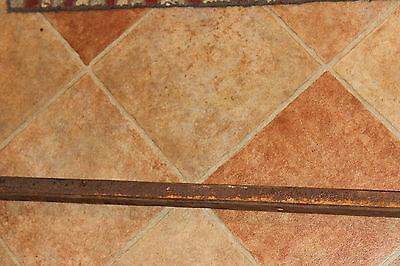 "Antique Cast Iron Steel Bed Rail Garden Trellis Railing-82"" L-Architectural-#1 5"