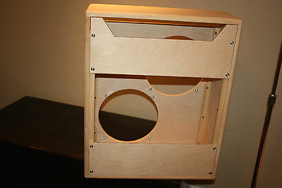 RAWCABS BASSMAN 2X12 unfinished empty pine combo cabinet project