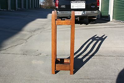 Gustav Stickley No. 54 Mission Oak Arts & Crafts Umbrella Stand 2