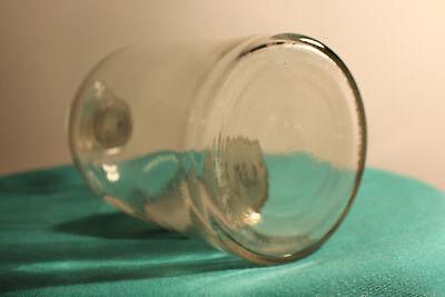 Apothekenflasche, Glasflasche, Vorratsglas Laborglas mit Glasstopfen   `*6271 3