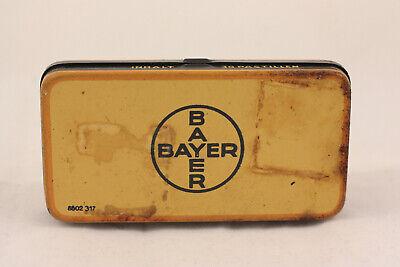 Alte Blechdose Panflavin Desinfektions Pastillen von Bayer 3