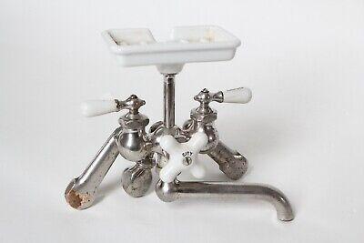 antique faucet kitchen sink | chicago vtg mixing faucet shower victorian deco 5