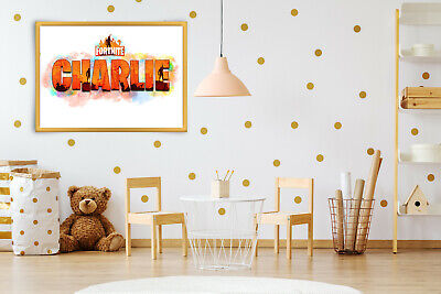 Personalised Fortnite Meowscles Bedroom Wall Print Artwork canvas //poster print