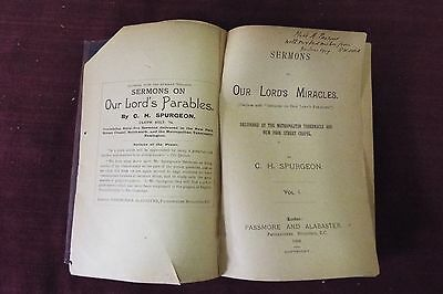 The Miracles of Our Lord - Spurgeon - 1909 Metropolitan Tabernacle Series 2