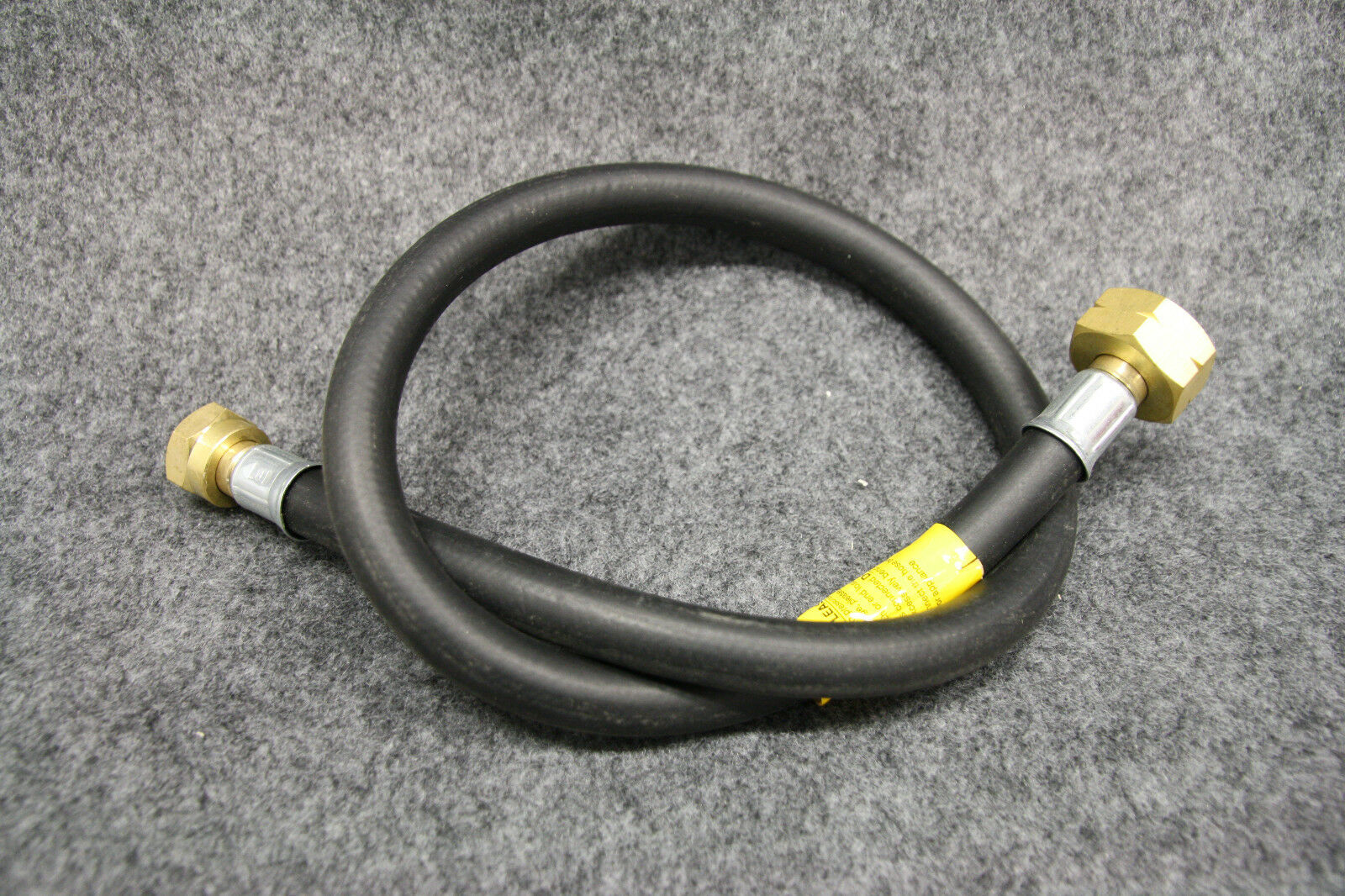 450mm Butane Cylinder Pigtail - to Suit Calor Gas, Fits Truma Regulator/Similar 2