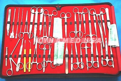 New Premium 157 Pc Minor Surgery Suture Set Surgical Instruments Kit-All In One