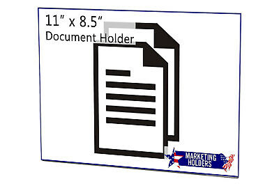 """Magnetic Ad Frame Sign Holder 11""""W x 8 1/2""""H Wall Mount with No Holes 9"""