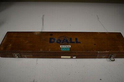 "DoAll 5-20"" Rectangular Steel Large/Long Gage Block Set - NN39 7"