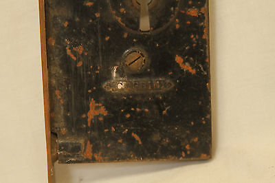 Antique Architectural Salvage Lot Of 5 Brass Door Locks 6