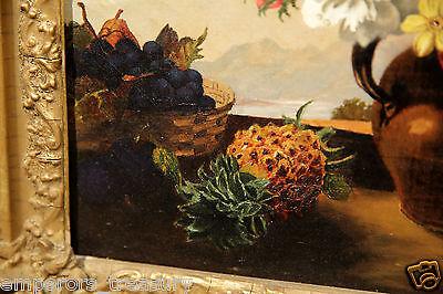 Early 20th Century European Flower Still Life Oil Painting 10