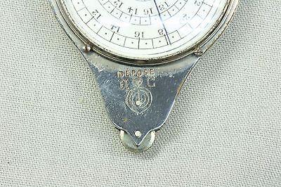 Curvímetro. Medidor de longitudes sobre mapas. Henri Chatelain
