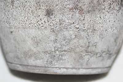 Chinese Song 11th-12th Cen Dk Brn Hares' Fur Glaze Large Barrel Form Handled Jar 11