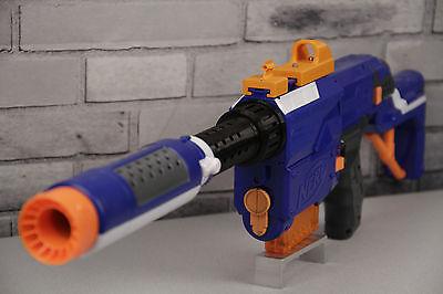Image is loading NERF-Elite-MODULUS-BARREL-ATTACHMENT-clips-guns-silencer-