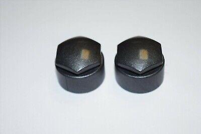 SEAT IBIZA LEON ALHAMBRA ALTEA 17mm WHEEL NUT COVERS LOCKING BOLT CAPS GREY x20