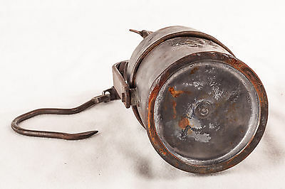 Grubenlampe Antik Selten rar Sammlerstück 6